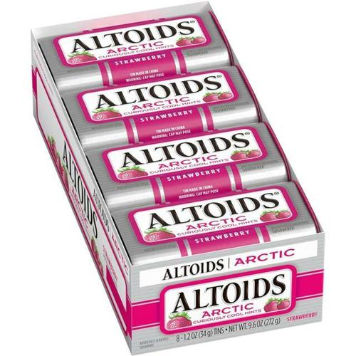 Altoids Strawberry Mints 8/1.2oz - Wrigley