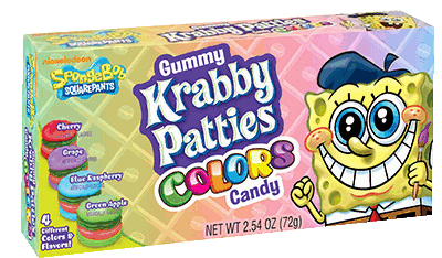 Krabby Pattie Color Thbx 12/2.54oz
