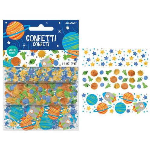 Blast Off Birthday Confetti - Amscan