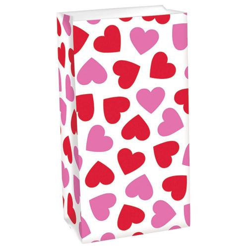 Valentine's Day Treat Bags 12ct - Amscan
