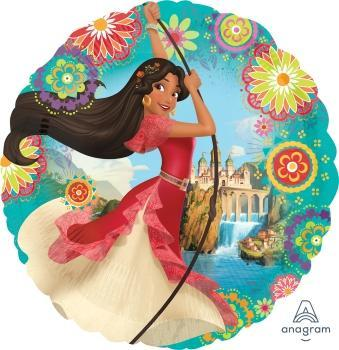 "17"" Elena of Avalor Foil Balloon - Flat"