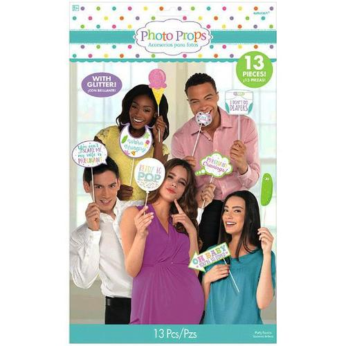 Baby Shower Photo Props - Amscan