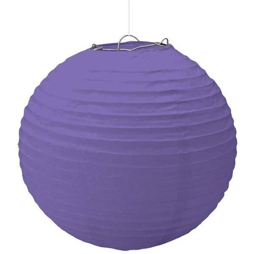 New Purple Large Lantern - Amscan