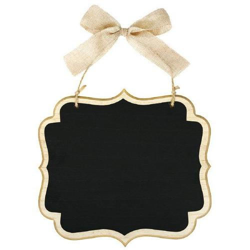 Chalkboard Sign Large Wood Border - Amscan
