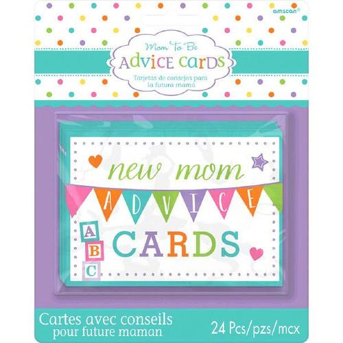 Baby Shower Mommy Advice Cards - Amscan