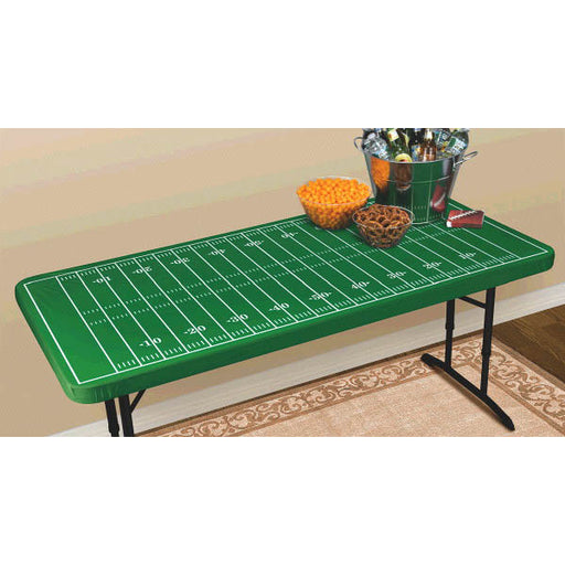 Football Field Table Cover w/Elastic - Amscan