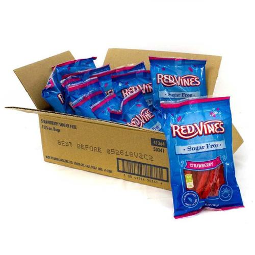 Red Vines Sugar Free Strawberry 12/5oz - American Licorice Company