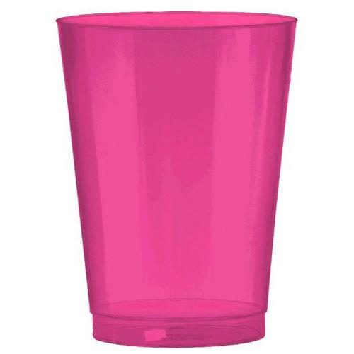 Bright Pink 10oz Tumbler 72ct - Amscan