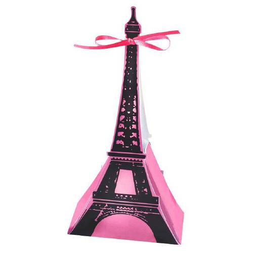 Day In Paris Favor Box 12Ct - Amscan