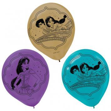 Aladdin Latex Balloons 6ct - Amscan