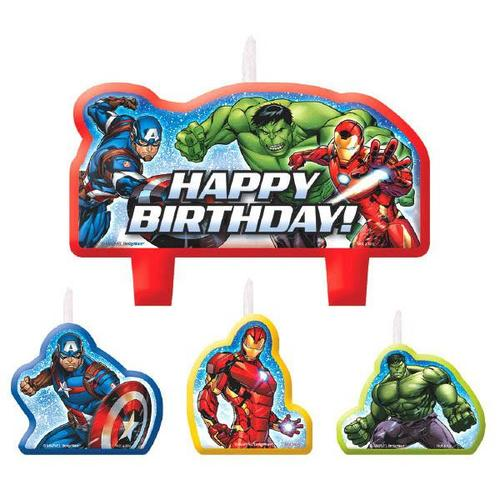 Avengers Epic Candle Set - Amscan