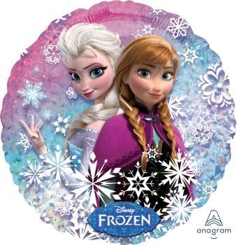 "18"" Frozen - Holographic Foil Balloon - Flat - Anagram"
