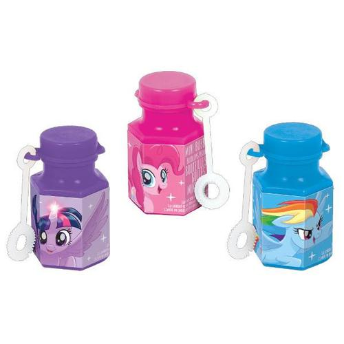 My Little Pony Friendship Adventures Mini Bubbles 12ct - Amscan