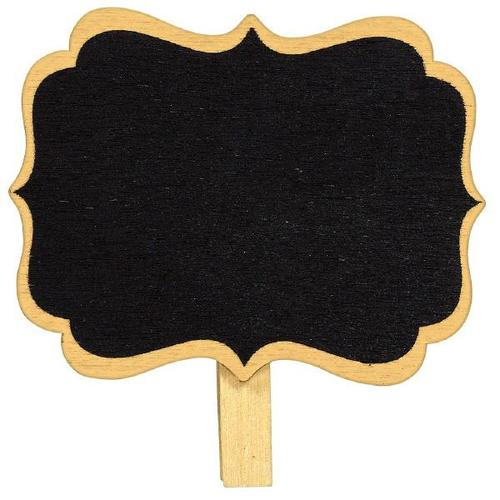 Chalkboard Clip On Labels 8ct - Amscan