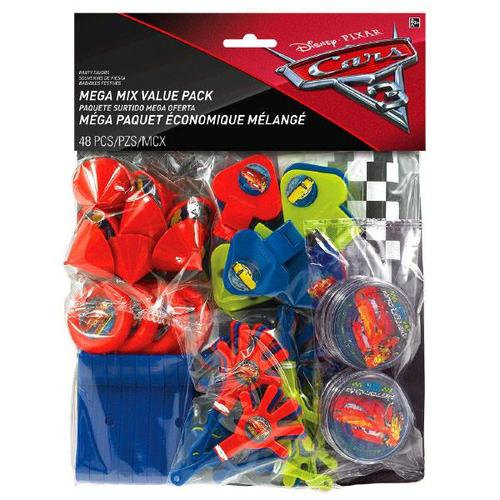 Cars 3 Mega Mix Pack - Amscan