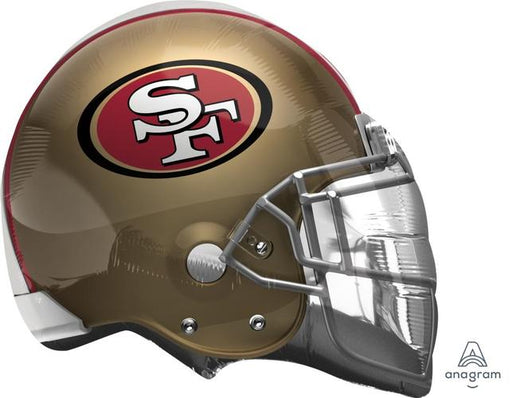 "Supershape San Francisco 49ers Helmet 26"" Balloon - Anagram"