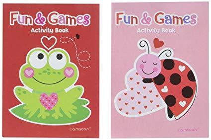 Valentine's Day Activity Pads - Amscan