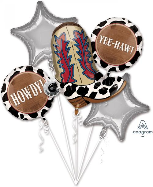 Yeehaw Balloon Bouquet - Anagram