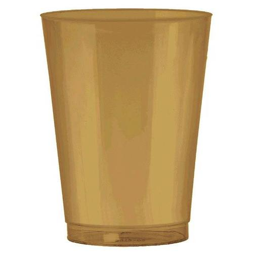 Gold 10oz Tumbler 73ct - Amscan