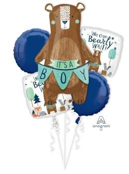 We Can Bearly Wait Balloon Bouquet - Anagram