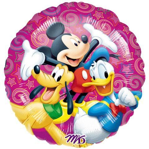 "17"" Disney Celebration Foil Balloon - Flat - Anagram"