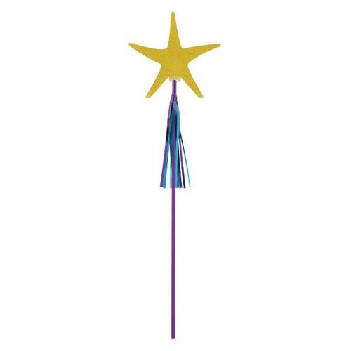 Mermaid Wishes Starfish Wands - Amscan