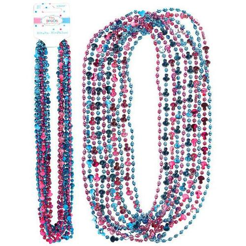 Girl Or Boy Bead Necklaces - Amscan