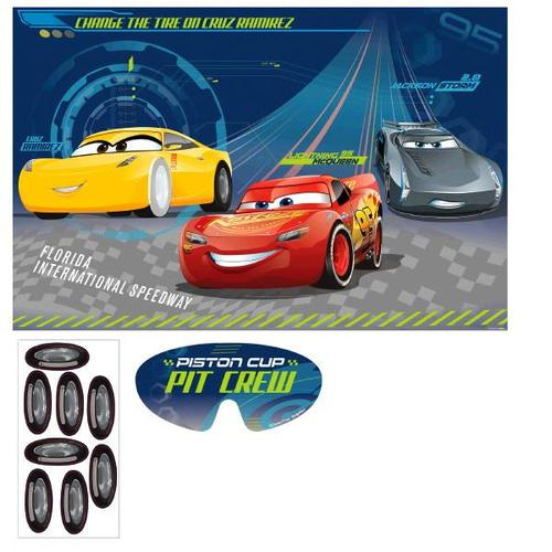Cars 3 Party Game - Amscan