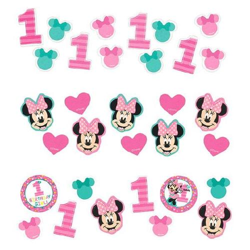Minnie Fun2B1 Confetti - Amscan