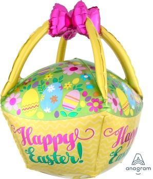 "Supershape Easter Basket 25"" Balloon"