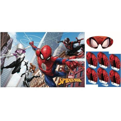 Spider Man Webbed Wonder Party Game - Amscan