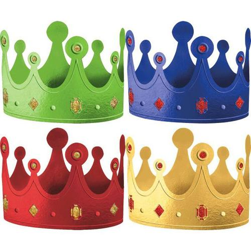 Rainbow Crowns 12ct