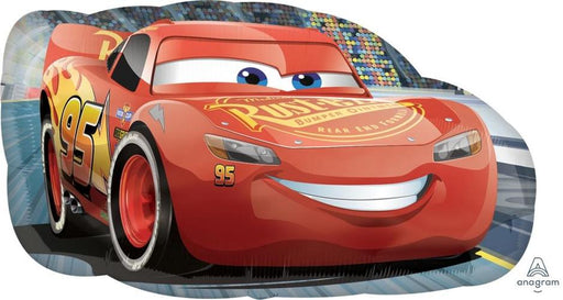 "Supershape Cars Lighting Mcqueen 30"" Balloon"