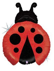 "Supershape Little Ladybug 27"" Balloon - Betallic"