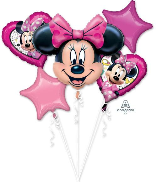 Minnie Mouse Happy Helper Balloon Bouquet - Anagram