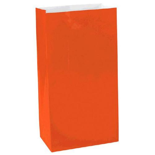 Orange Peel Mini Paper Bag - Amscan