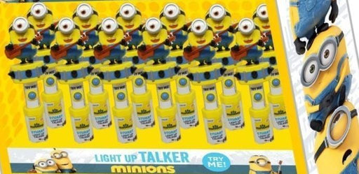 Minions Candy Talker 12/.53oz - Candy Rific