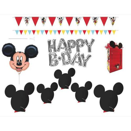 Mickey On The Go Wall & Table Decorating Kit - Amscan