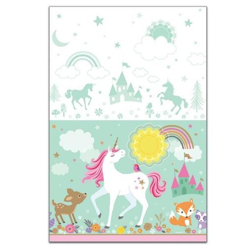 Magical Unicorn Plastic Table Cover - Amscan