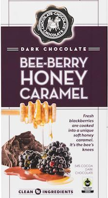 Dark Chocolate Bee Berry Boney Bar 12/3.5oz - Chocolate Chocolate Chocolate