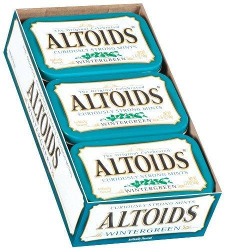 Altoids Wintergreen 12/1.76oz - Wrigley