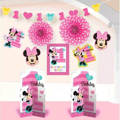 Minnie Fun2B1 Room Deco Kit - Amscan