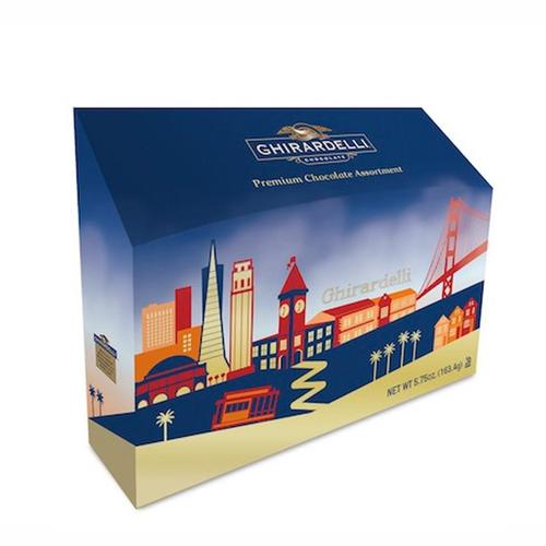 San Francisco Skyline Box - GHIRARDELLI CHOCOLATES