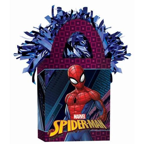Spider Man Webbed Wonder Mini Tote Balloon Weight - Amscan