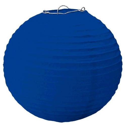 Bright Royal Blue Large Lantern - Amscan