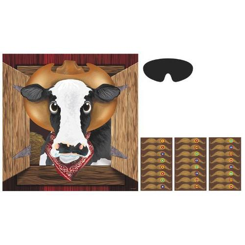 Yeehaw Western Cow Party Game - Amscan