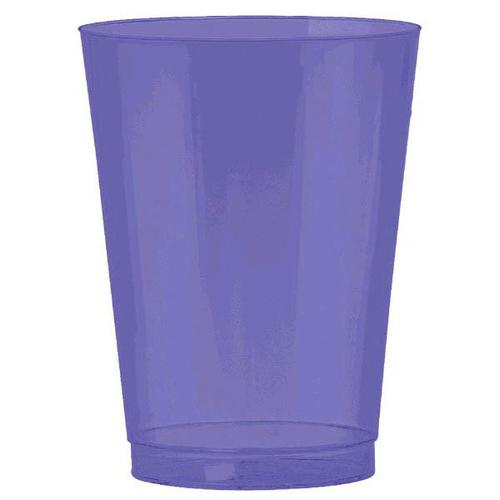 New Purple 10oz Tumbler 72ct - Amscan