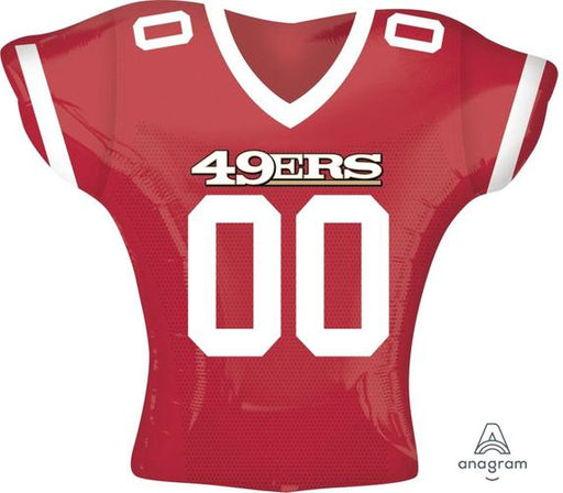 "Supershape San Francisco 49ers Jersey 24"" Balloon - Anagram"