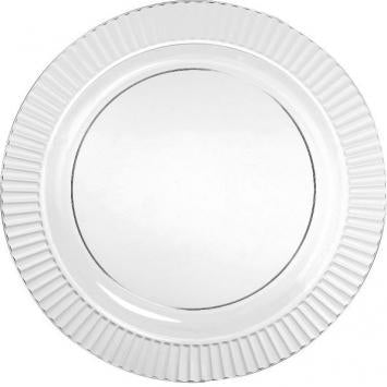 "Premium Plate 7 1/2"" Clear 32ct - CATERING SUPPLY"
