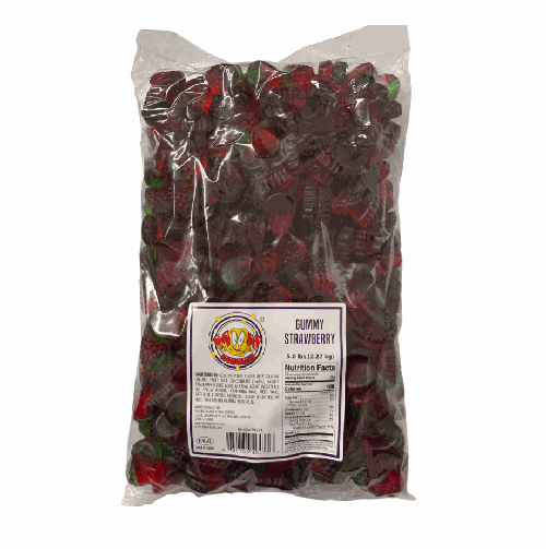 Moon Munchies Gummy Strawberry 4/5lb - Moon Munchies